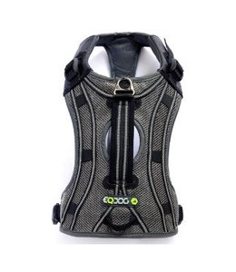 EQDOG Pro harness silver/reflective