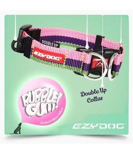 EzyDog Double Up Collar, bubble gum