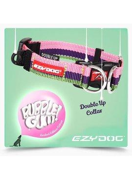 EzyDog Double Up halsband, bubble gum