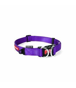 EzyDog Double Up Collar, purple