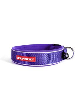 EzyDog classic neo collar, purple