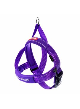 EzyDog QuickFit harness, purple