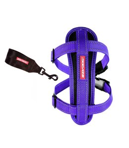 EzyDog Chest Plate harness, purple