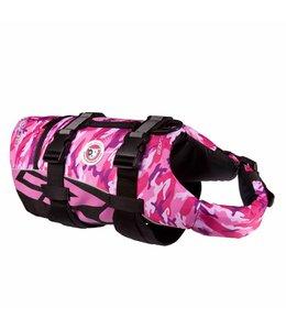 EzyDog Flotation Device, pink camo