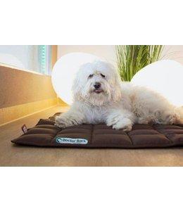 Doctor Bark dog blanket, brown
