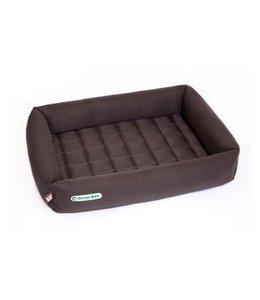 Doctor Bark dog bed, brown