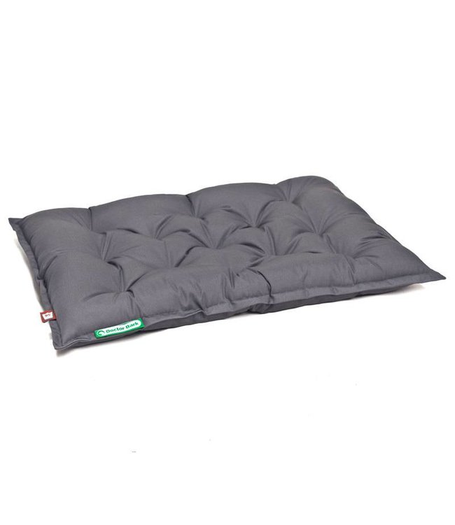 Doctor Bark Doctor Bark outdoor / inlay cushion for pet bed, gray