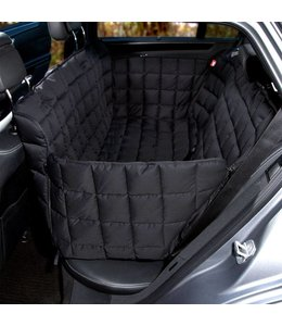 Doctor Bark 3 seater seat cover, black