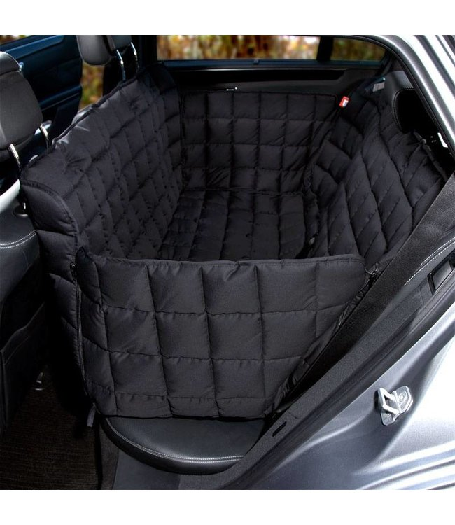 Doctor Bark 3 seater rear seat cover, black