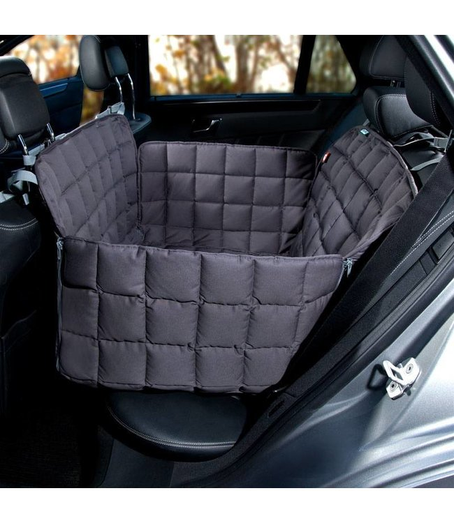 Doctor Bark Doctor Bark 2-seater rear seat cover, gray