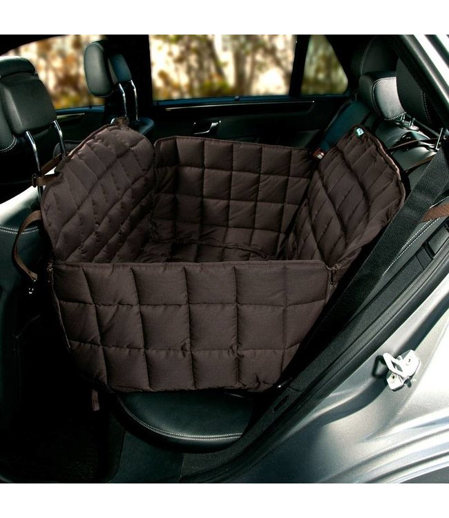 Doctor Bark Doctor Bark 2-seater rear seat cover, brown