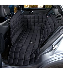 Doctor Bark 2-seater seat cover, black