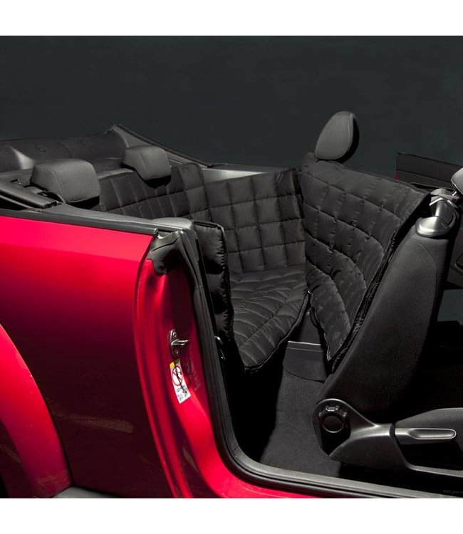 Doctor Bark 2- door back seat cover, black