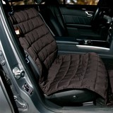 Doctor Bark blanket for the passenger seat, brown