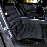 Doctor Bark blanket for the passenger seat, black