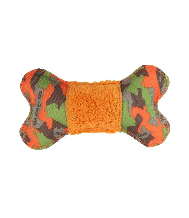 Major Dog Major Dog Bone met Pluche hondenspeelgoed