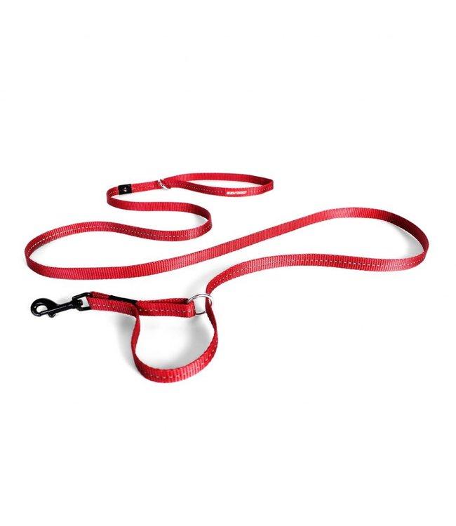 EzyDog EzyDog vario 4 LITE adjustable leash, red