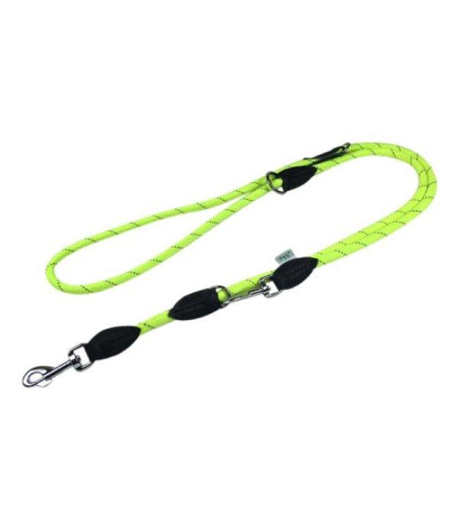 Dogogo Dogogo double dog leash, yellow