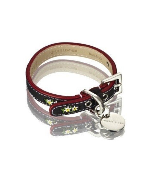 Hennessy and Sons Hennessy and Sons Edelweiss collar, black