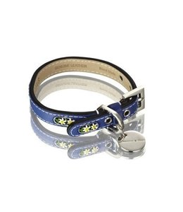 Hennessy and Sons Edelweiss collar, blue