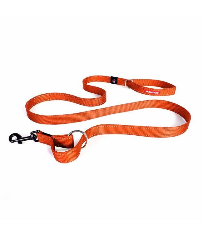 EzyDog EzyDog Vario 4 adjustable leash, orange