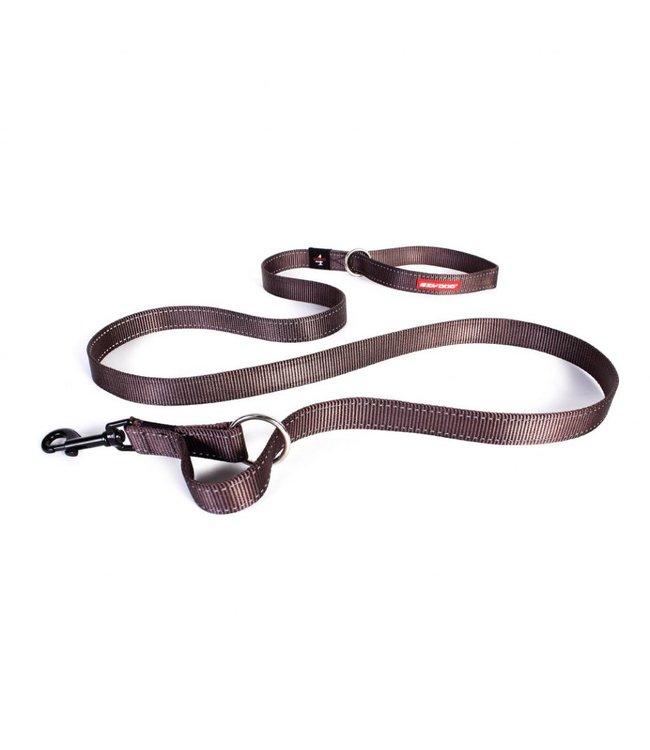 EzyDog EzyDog Vario 4 adjustable leash, brown