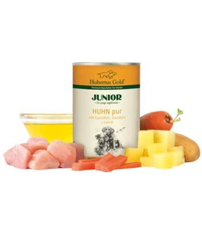 Hubertus Gold Hubertus Gold Junior Chicken Pure