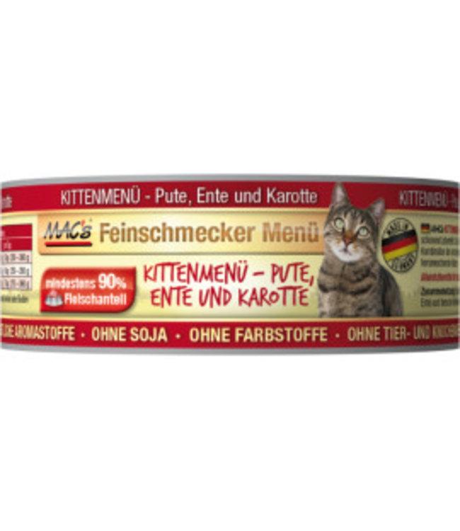 MAC's Cat Fijnproever Kitten, kalkoen, eend en wortel