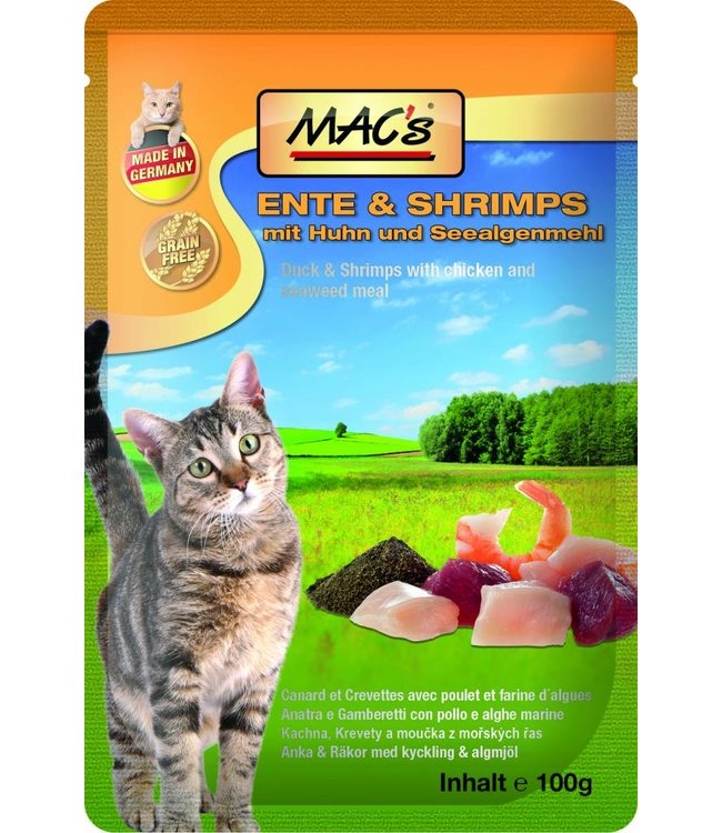 MAC's Cat Pouch Packs - Eend en Garnalen