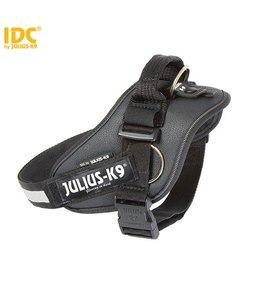 Julius-K9 IDC Hundegeschirr mit Seitenring Schwarz