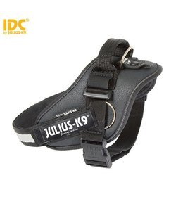 Julius-K9 IDC Power Harness with side ring black