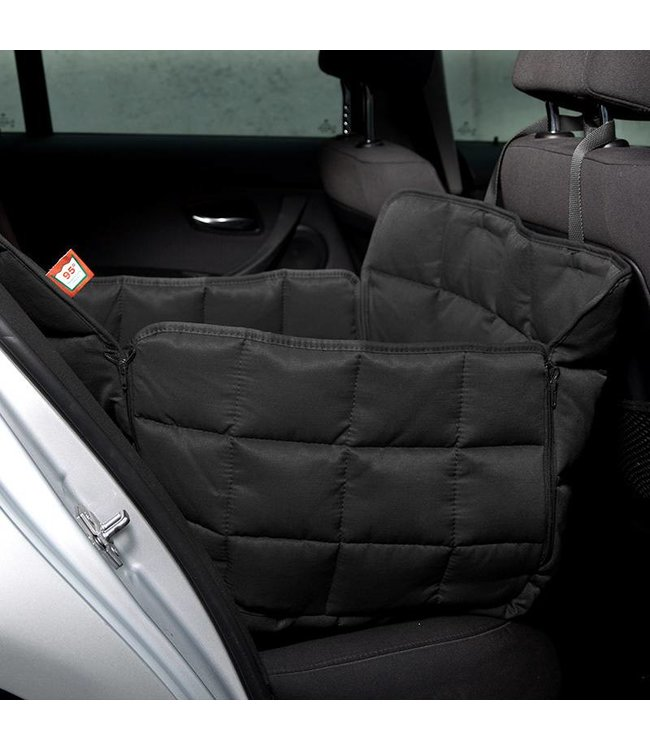 Doctor Bark 1-seater seat cover, black