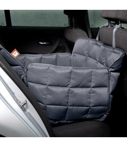 Doctor Bark 1-seater seat cover, grey