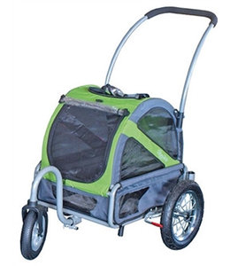 Doggy Ride Buggy mini, groen/grijs