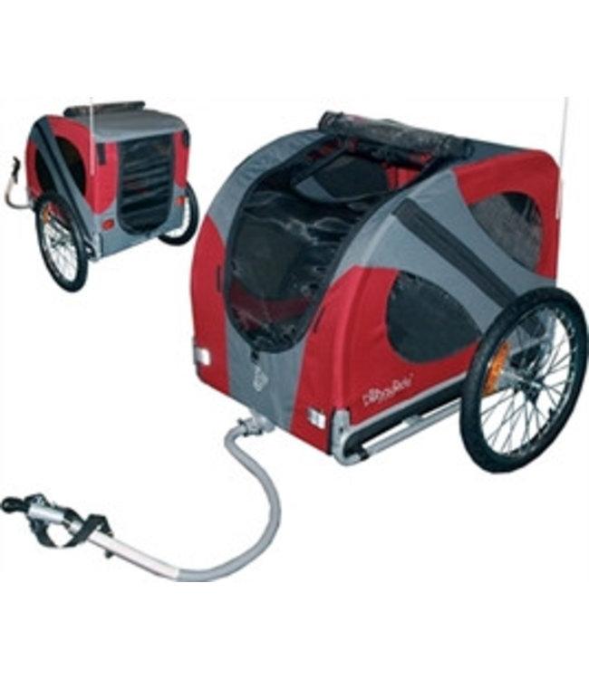 Doggy Ride Doggy Ride Fietskar Original, rood/grijs
