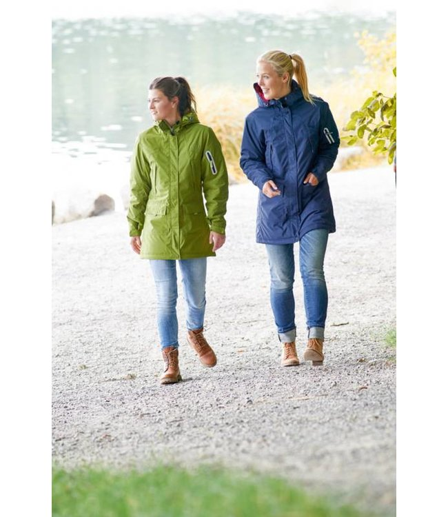 Owney Owney dames winterparka Albany, anthraciet