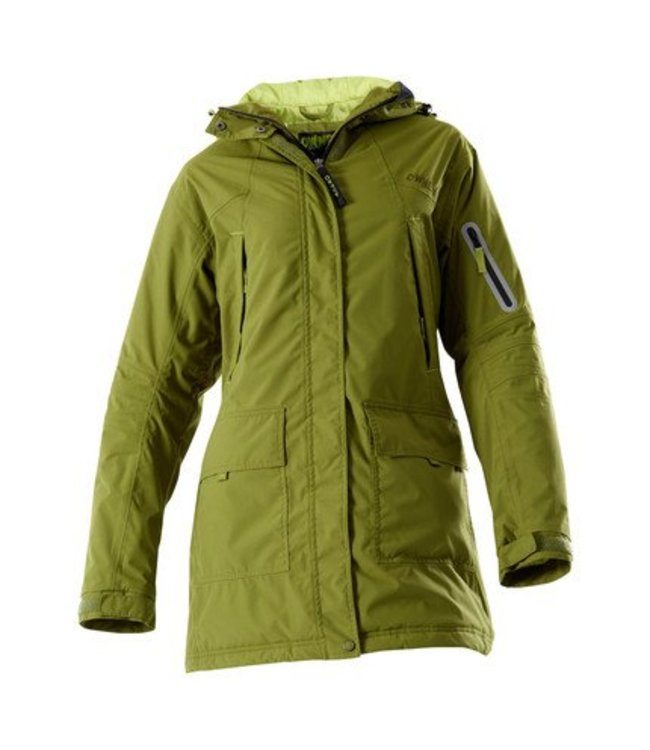 Owney Owney dames winterparka Albany, moss-green