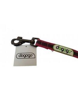 Dogogo Antislip riem met handvat in div. lengtes en breedtes, roze