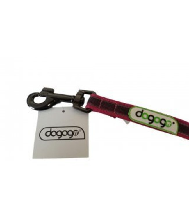 Dogogo Dogogo antislip leash with loop in diff. lengths and widths, grey - Copy