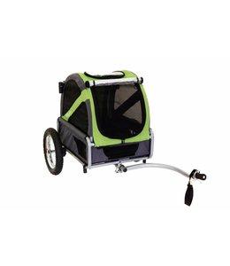 Doggy Ride hondenfietskar mini, groen/grijs