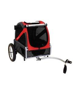 Doggy Ride Fietskar mini, rood/zwart