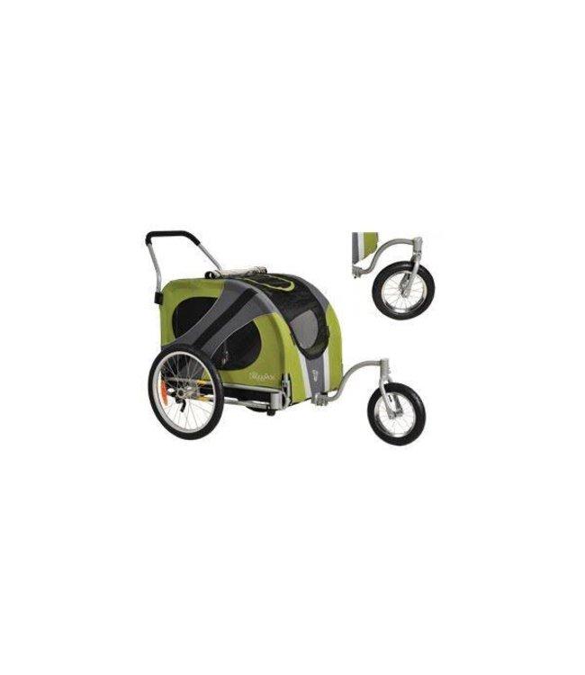 Doggy Ride Novel Jogger wandel wagen, groen/grijs