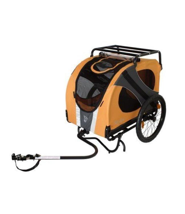Doggy Ride Novel 10 hondenfietskar, oranje