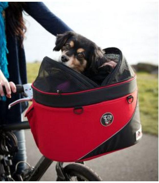Doggy Ride Cocoon fiets- en draagmand, rood