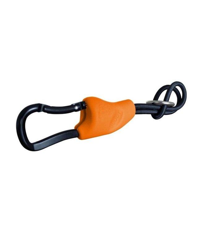Doggy Ride Buddy - veelzijdige honden-aanlijn-attribuut , oranje