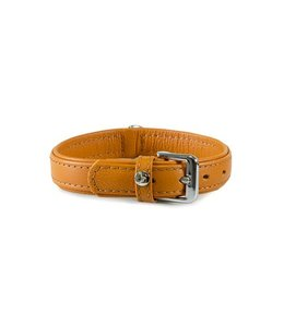 Das Lederband collar Denver, cognac