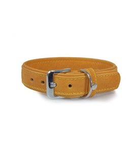 Das Lederband collar Boston, sand
