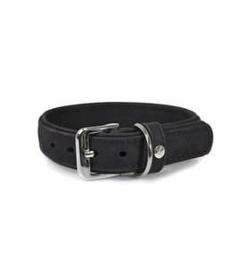Das Lederband collar Boston, black