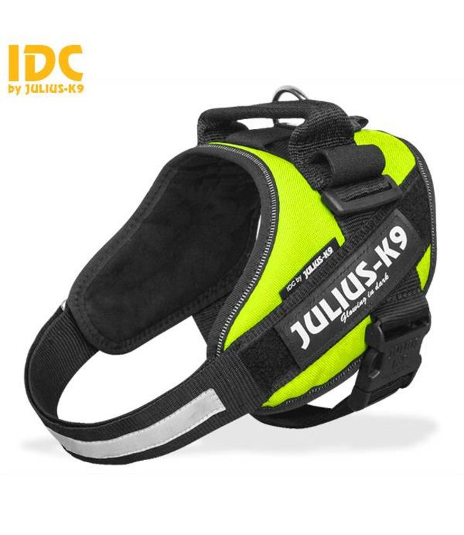 Julius-K9 Julius K9 IDC Hundegeschirr Neongrün