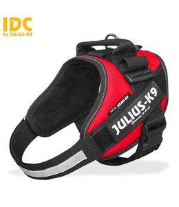 Julius-K9 IDC Powertuig neon rood